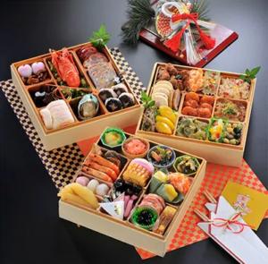 勝浦市三段重特製おせち 海の幸万歳おせち