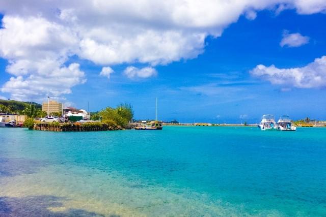 グアムのビーチの写真