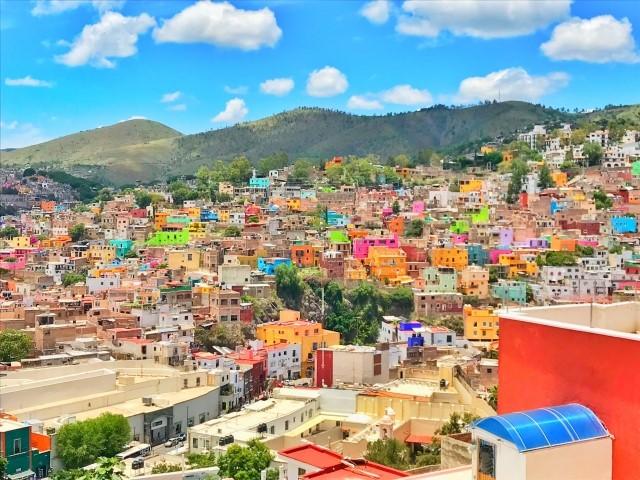 グアナファトの風景写真