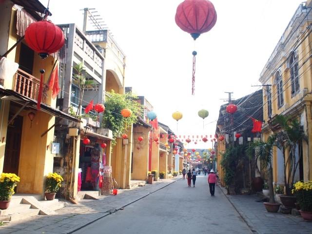 ホイアン市街地の写真